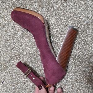 Sam Edelman Shoes - Sam Edelman 7M Lyla Suede Purple Pumps Heels